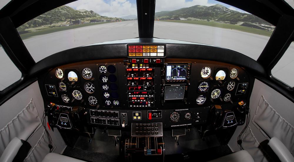 Simulátor FNPT II MCC HIBRID